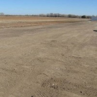 Anthony KS Airport Taxiway With New Base