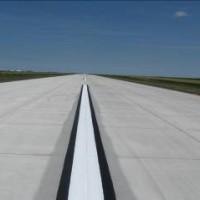 Scott City Airport Runway Centerline Stripping