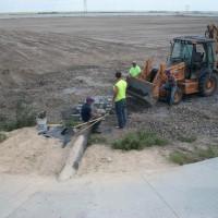 Stockton_Wastewater_Treatment_Facility_construction_of_first_treatment_lagoon