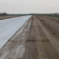 Anthony KS Airport New Concrete And Paving Lane