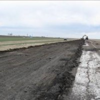 Scott City Airport Pavement Removal On Runway