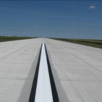 Scott City Airport Runway Centerline Stripping