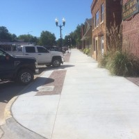 City Of Little River Streetscape Nearing Completion