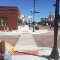 Little River Streetscape Nearing Completion
