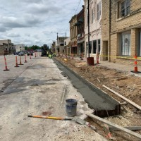 Marion Streetscape Block 6 Curb Pour LinkedIn