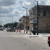 Marion Streetscape Project Concrete Light Poles