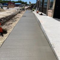 Marion Streetscape Sidewalk Completion 1