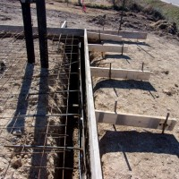 South Pump Station Stockton KS Water Footings And Floor Framework