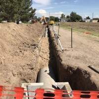Lakin Drainage Improvement Trench Website